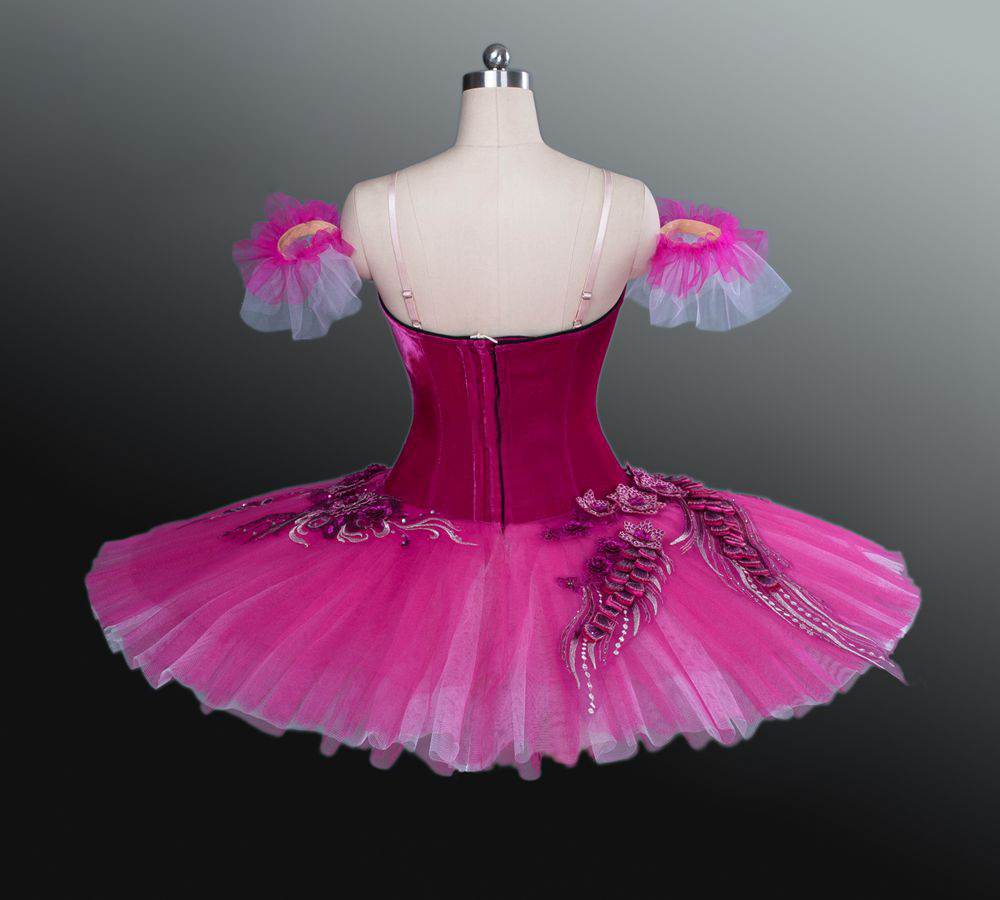 red ballet tutu Wholesale women western dance costu